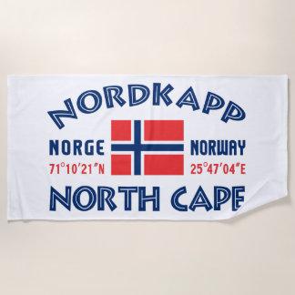 Toalla de playa de NORDKAPP Noruega
