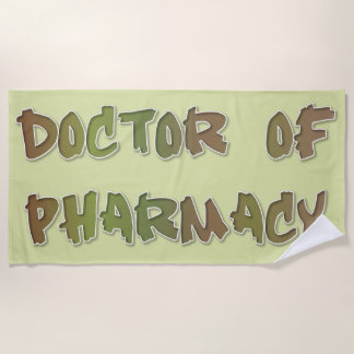 Toalla De Playa Dr de la farmacia
