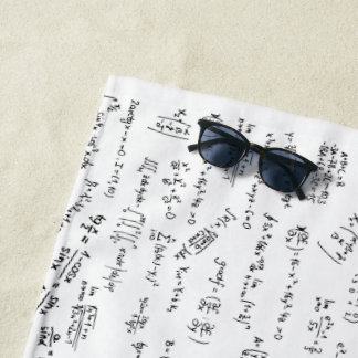 Toalla De Playa Ecuaciones y fórmulas de la matemáticas