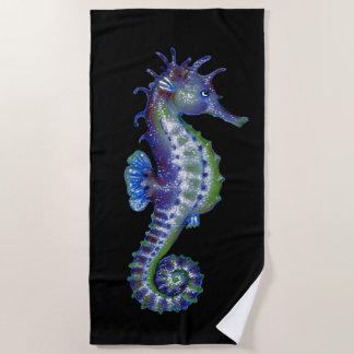 Toalla De Playa El azul del Seahorse elige color