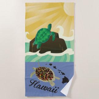 Toalla De Playa Islas de Hawaii