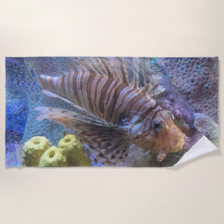 Toalla De Playa Lionfish