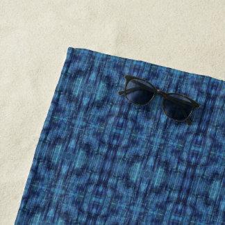 Toalla De Playa Modelo del tejano azul oscuro