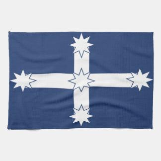 Toalla de té de la bandera de Eureka