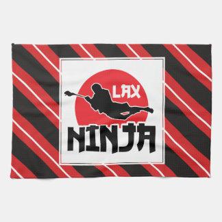 """Toalla de té de LaCrosse """"LAX Ninja"""""""