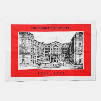 Toalla de té del hospital de Middlesex