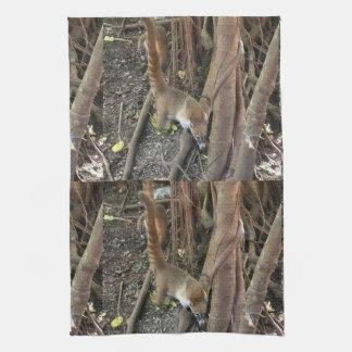 Toallas de cocina de la selva de Mundi del Coati