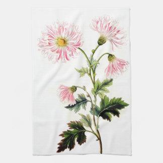 Toallas de cocina florales de las flores de