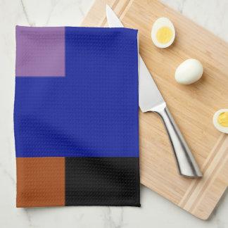 Toallas de cocina multicoloras del arándano por