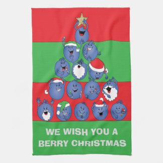 """Toallas """"navidad de la baya """""""