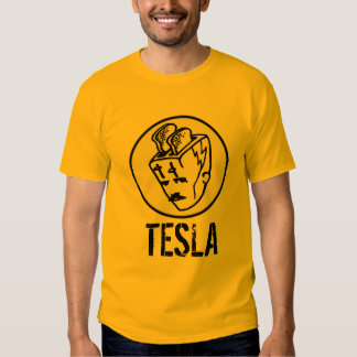 Toasterhead Tesla transparente Camiseta