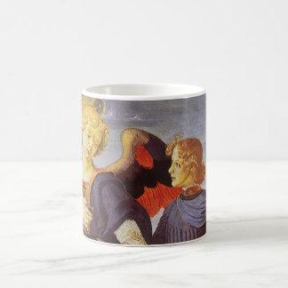 Tobias y el ángel de Andrea del Verrocchio Taza