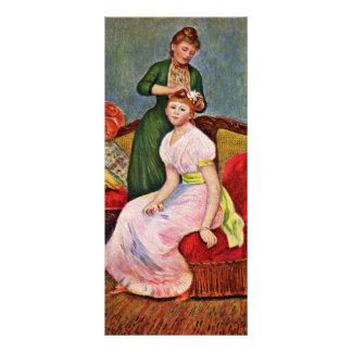 Tocado del La de Pierre-Auguste Renoir Lona