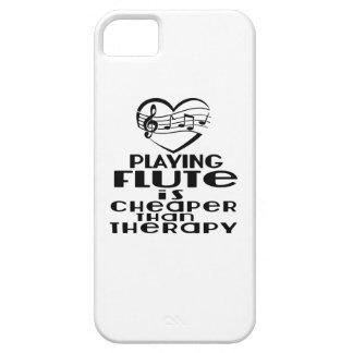 Tocar la flauta es más barato que terapia funda para iPhone SE/5/5s
