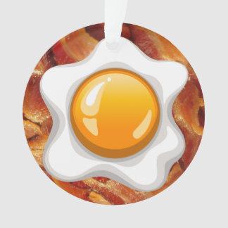 Tocino y huevo - mamá/ornamento del restaurante -