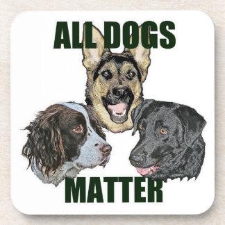 Toda la materia de los perros posavasos
