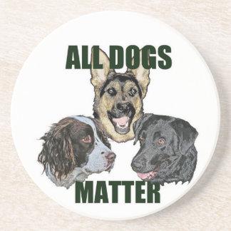 Toda la materia de los perros posavasos de arenisca