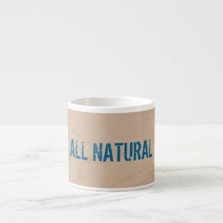 Toda la taza natural del expresso