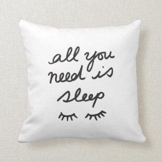 Toda lo que usted necesita es almohada de tiro del
