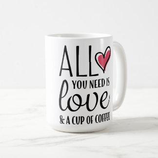 Toda lo que usted necesita es amor y una taza de