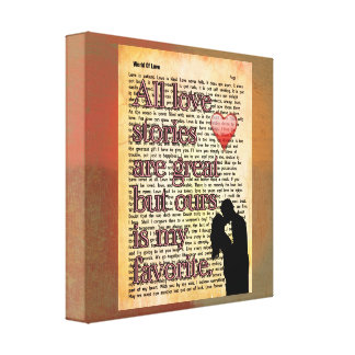 Todas las historias de amor -- Impresión del arte
