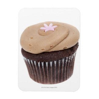 Todavía del estudio vida tirada de cupcakes. imanes flexibles