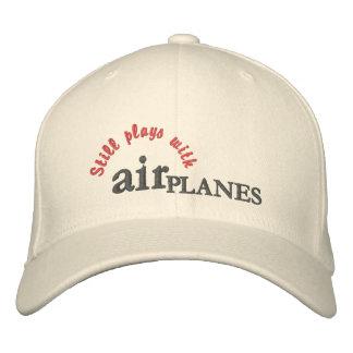 Todavía juegos con el gorra de los AVIONES de aire Gorra De Béisbol Bordada