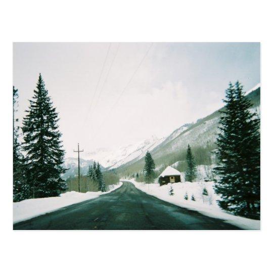 Todavía postal del invierno