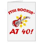 ¡Todavía Rockin en 40! Tarjetas