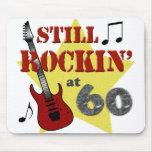 Todavía Rockin en 60 Alfombrillas De Raton