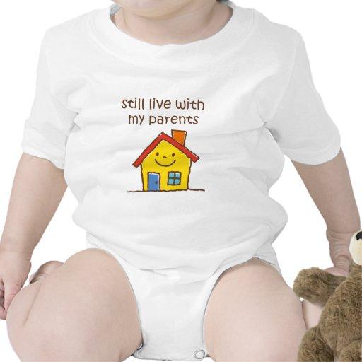 Todavía viva con mis padres trajes de bebé