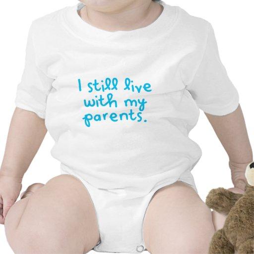 Todavía vivo con mis padres trajes de bebé