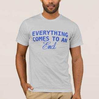 Todo acaba camiseta