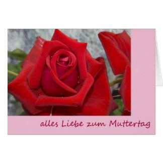 Todo amores al día de madre tarjeta de felicitación