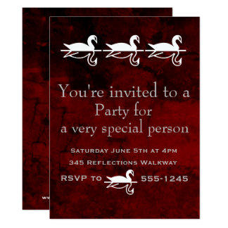 Todo el fiesta de la ocasión invitación 16,5 x 22,2 cm