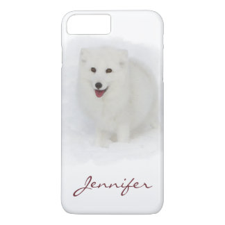 Todo el Fox ártico blanco Funda iPhone 7 Plus