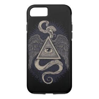 Todo el ojo que ve, cajas ocultas del teléfono funda iPhone 7