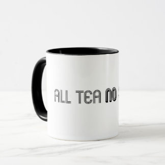 Todo el té ninguna taza de la sombra