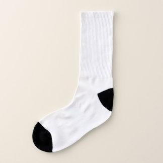 Calcetines Todo encima - calcetines grandes de la impresión