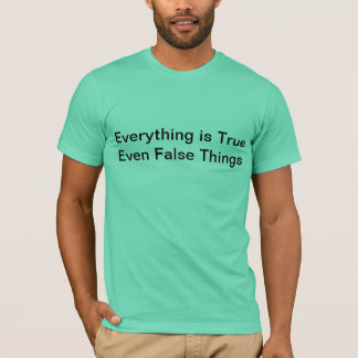 todo es camiseta verdadera