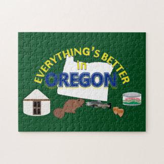 Todo es mejor en el rompecabezas de Oregon