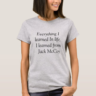Todo I aprendido de la camiseta de la vida