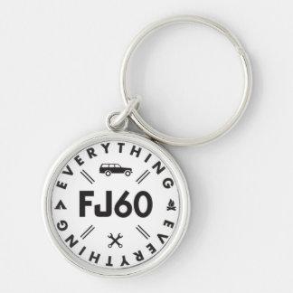 Todo llavero del logotipo FJ60