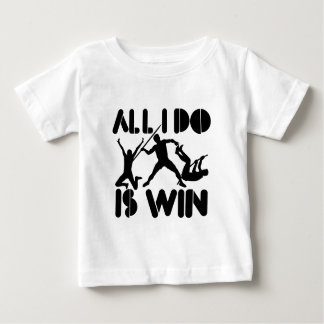 Todo lo que lo hago es triunfo en el Decathlon Camiseta De Bebé