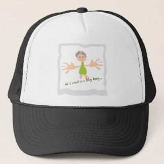 Todo lo que necesito es un abrazo grande - gráfico gorra de camionero