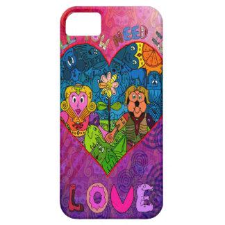 Todo lo que usted necesita es amor iPhone 5 coberturas