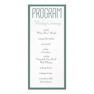 Todo lo que usted necesita es programa del boda lonas personalizadas