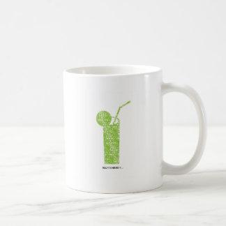 Todo lo que usted necesita es… tazas de café