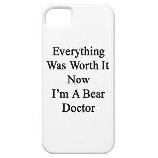 Todo lo valió ahora que soy doctor del oso iPhone 5 Case-Mate carcasa