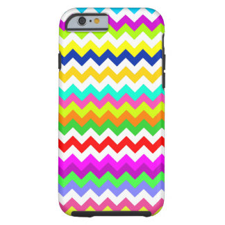 Todo menos Chevron gris Funda Para iPhone 6 Tough